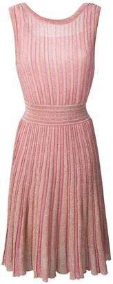 Missoni knitted glitter dress