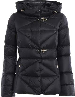 Fay Quilted Padded Hooded Jacket