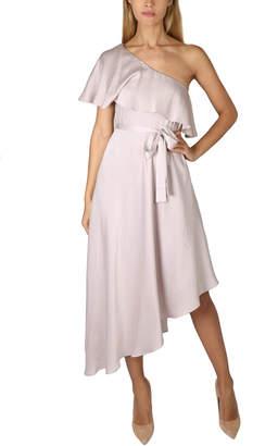 Zimmermann Sueded One Shoulder Dress