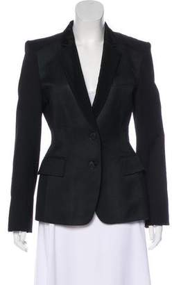 Stella McCartney Woven Notch-Lapel Blazer