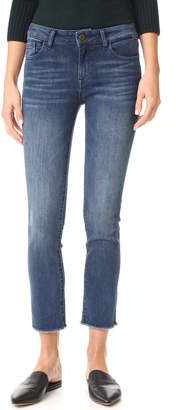 DL1961 Mara Instasculpt Straight Cropped Jeans $188 thestylecure.com