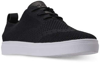Finish Line Vlado Men's Venice Wingtip Knitted Textile Casual Sneakers from
