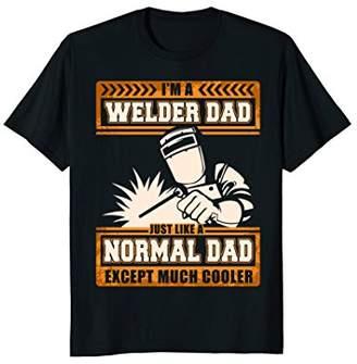 DAY Birger et Mikkelsen I'm A Welder Dad Happy Father's Cooler T-Shirt