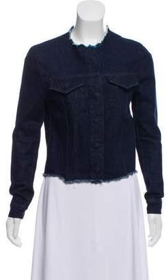 Marques Almeida Marques' Almeida Frayed Denim Jacket