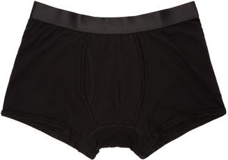 Comme des Garçons Shirt Black Boxer Briefs $45 thestylecure.com