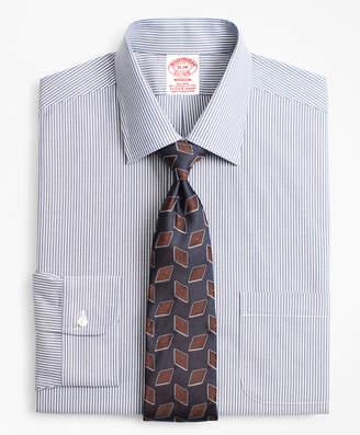 Brooks Brothers Stretch Madison Classic-Fit Dress Shirt, Non-Iron Narrow Ground Stripe