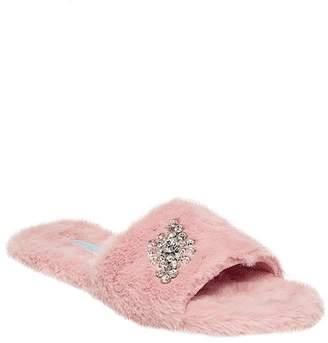 Betsey Johnson Haven Faux Fur Slipper