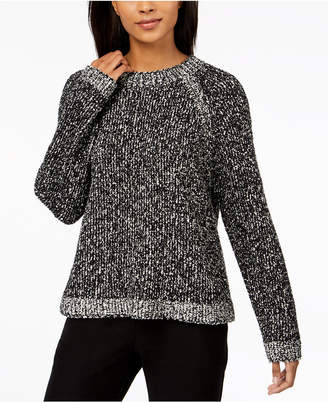 Eileen Fisher Organic Cotton Raglan Sweater