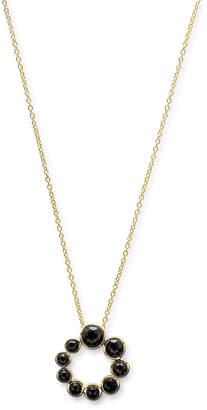 Ippolita 18k Lollipop® Spiral Pendant Necklace, Black Onyx