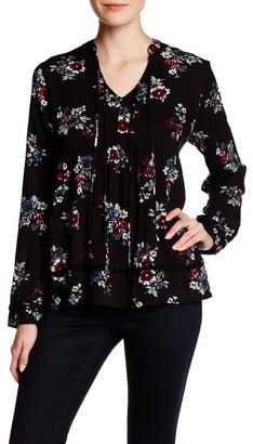 Mo:Vint Long Sleeve Floral Blouse $69.90 thestylecure.com