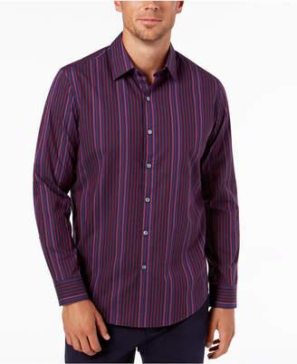Tasso Elba Men's Striped Shirt, Created for Macy's