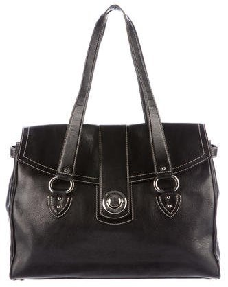 Marc JacobsMarc Jacobs Leather Flap Shoulder Bag