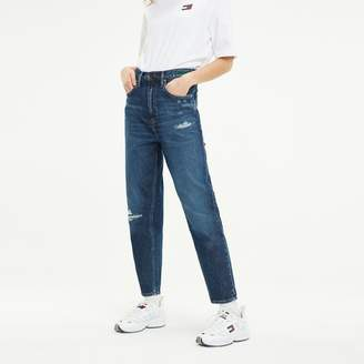 Tommy Hilfiger Recycled High Rise Tapered Fit Jean