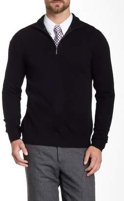 Quinn Cashmere Half Zip Sweater