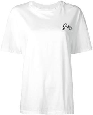 Julien David jazzy print T-shirt