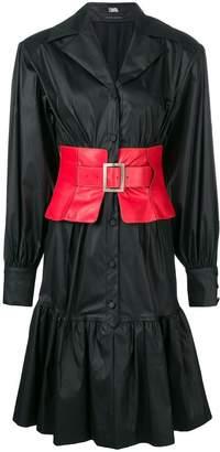 Karl Lagerfeld flared shirt dress