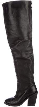 Marsèll Thigh-High Leather Boots