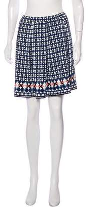 Max Studio Printed Mini Skirt