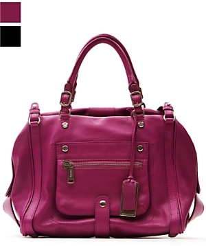 Gryson Hannah Leather Duffel Bag