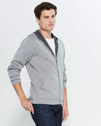 Gant Double Faced Extrafine Merino Wool Long Sleeve Hoodie