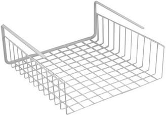 Southern Homewares Under Shelf Wire Basket. White