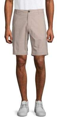 Ezekiel Vander Striped Cotton Shorts