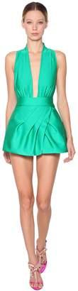 Fausto Puglisi Stretch Jersey Mini Dress