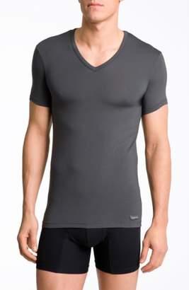 Calvin Klein 'U5563' V-Neck Micromodal T-Shirt