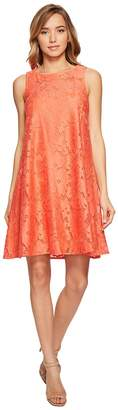 Donna Morgan Sleeveless Tent Lace Dress Women's Dress