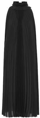 Haider Ackermann Pleated silk dress