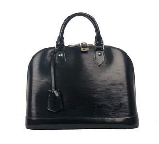 Louis Vuitton Alma Black Patent leather Handbag