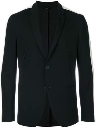 Fendi contrast side panel blazer
