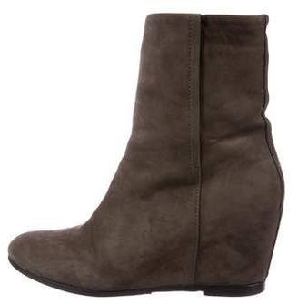Vince Suede Wedge Boots