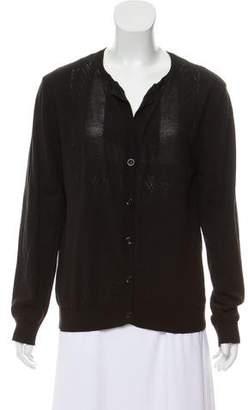 Dries Van Noten Wool Blend Knitted Cardigan