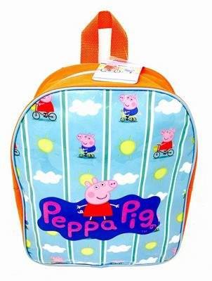 Peppa Pig Bicycle Arch School Bag Rucksack Backpack