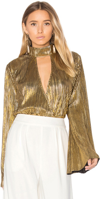 House of Harlow x REVOLVE Lynn Blouse $140 thestylecure.com