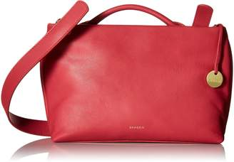 Skagen Mikkeline Mini Satchel Leather Satchel Bag