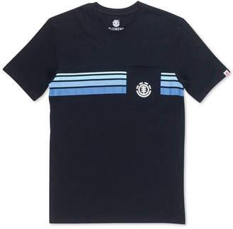 Element Men Dawn Pocket Striped T-Shirt