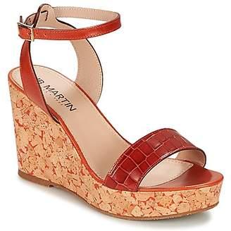 JB Martin 2OLA women's Sandals in Orange