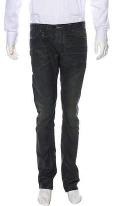 Diesel Shioner Distressed Skinny Jeans