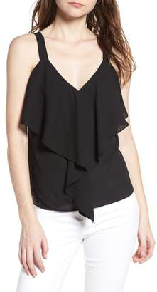 Trouve Ruffle Front Tank
