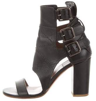 Laurence Dacade Leather Mid-Heel Sandals