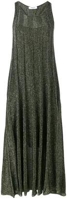 Blugirl glitter ribbed sleeveless dress