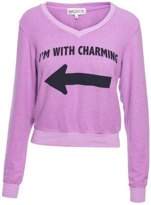 "Wildfox ""I'm With Charming"" Pullover $98 thestylecure.com"