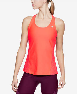 Under Armour HeatGear Cutout Racerback Tank Top
