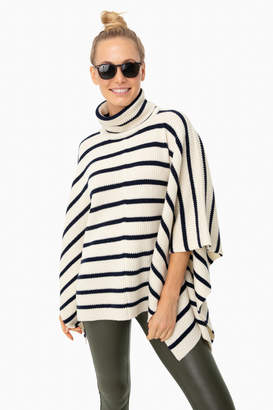 Hudson Tuckernuck Cream Sweater Poncho