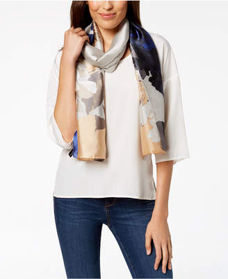 INC International Concepts I.N.C. Big Rose Oblong Scarf, Created for Macy's
