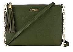 GiGi New York Women's Chelsea Chain Leather Crossbody Bag