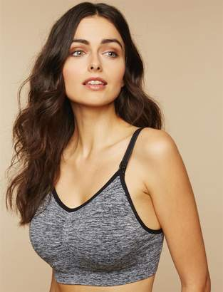 Motherhood Maternity Full Busted Seamless Maternity and Nursing Bra (Cup Sizes D+)