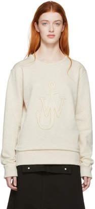 J.W.Anderson Beige Logo Sweatshirt